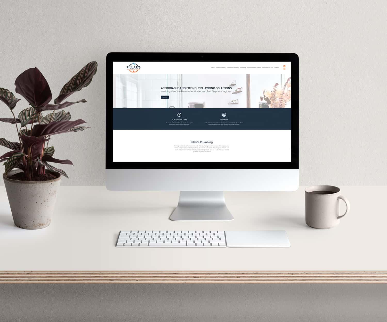 Pillar's Plumbing final website
